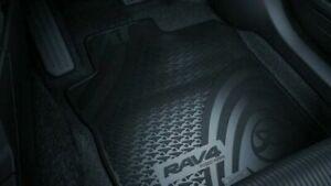 Genuine Toyota Rav 4 Front Rubber Floor Mats (Dec 2012 - On) PZQ20-42050