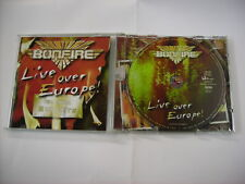 BONFIRE - LIVE OVER EUROPE ! - CD NEW UNPLAYED 2002 LZ RECORDS