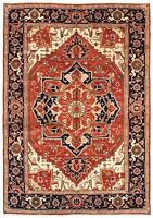 "Hand-Knotted Carpet 9'10"" x 13'10"" Traditional Oriental Wool Area Rug"