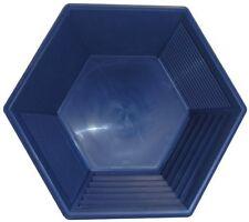 Goldwaschpfanne - JOBE Hex Pan 15'' - 37,5 cm, blau Goldwaschen Waschpfanne USA