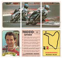 "RARE !! Vignettes AU CHOIX ""MOTO SPORT 1979"" stickers, figurina PANINI"