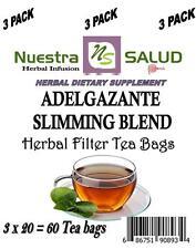 Adelgazante Te Filter Herbal Blend (60 Tea Bags) Slimming Blend Tea