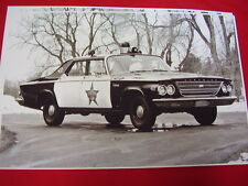 1963 CHRYSLER POLICE CAR   11 X 17  PHOTO  PICTURE