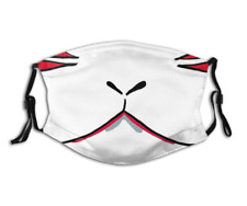 Japanese Fox Demon Face Mask with PM 2.5 Filters