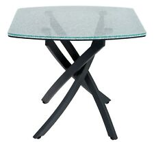 NEW HOUSE OF FRASER LINEA CRACKLE GLASS LAMP TABLE RRP £279