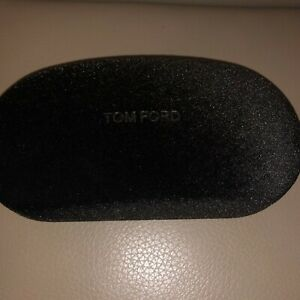 New Tom Ford Sunglasses Dark Brown Velour Hard Shell Case