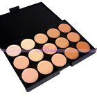15 Colors Concealer Face Eyes Camouflage Cream Cosmetic Palette Makeup Kits Tool