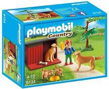Playmobil Country 6134- Golden Retrievers. De 4-10 años