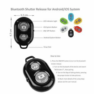 New Bluetooth Remote Control Camera Selfie Shutter Stick for iphone Android Phon