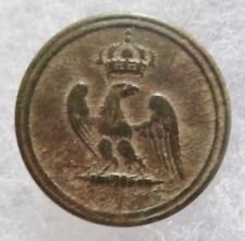 Bouton Aigle GARDE IMPERIALE 1° EMPIRE Napoléon Bonaparte ORIGINAL relique PM 2