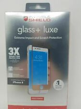 Zagg Invisible Shield Glass + Luxe Screen Protector iPhone 6/6s/7/8 IP7BLS-GD0