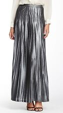 Catherine Malandrino NEW Gray Women's Size 8 Maxi Pleated Skirt #728 DEAL