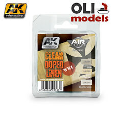 WWI CLEAR DOPED LINEN Acrylic Paint Set 3x17 ml - AK Interactive 2290