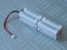 Sanyo Eneloop RC Transmitter 9.6v Square AA Battery - Spektrum / JR Plug