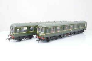 Bachmann OO Gauge - 31-326 BR Green Class 105 2 Car DMU w/Speed Whiskers - Boxed