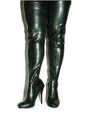 Promotion ! Stiefel latex gummi schwarz 39 Fetisch Domina sexy Polen Bolingier