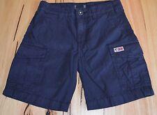 Napapijri Boys Cargo Shorts - NAVY BLUE - SIZES - 4,6,8,10,12 & 14 YEARS - NEW