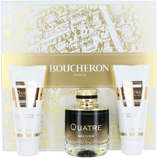 Quatre Absolu De Nuit By Boucheron For Women Set: EDP  +Body Lotion  +Shower Gel