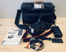 1996 Jvc Gr-Ax710U Video Movie Camcorder Bundle Complete With Bag & Tested Vf.