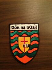 Donegal County GAA Gaelic Hurling Football iron on/ sew embroidered patch badge