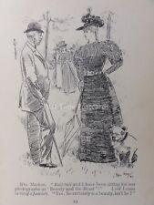 BOHEMIA Bohème & art Bull chien-Bull Bull séance pour photo antique Cartoon