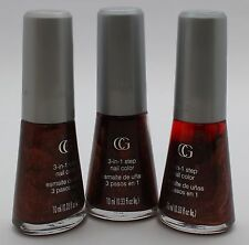 3PK CoverGirl 3-in-1 step Nail Color Q104 Best Bronze 10mL