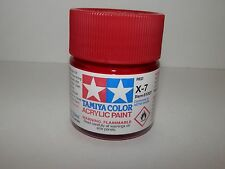 Tamiya Color Acrylic Paint Red #X-7 (23 ml) NEW
