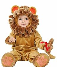Little Lion Baby Plush Halloween Costume 6-18 Months ( 16-24 lbs )