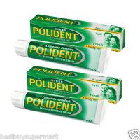 Polident Denture Adhesive Cream 60g X 2 tubes,