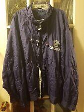 VINTAGE Dallas Cowboys Zip & Button-Up Windbreaker Jacket Adult 4X Dak Prescott