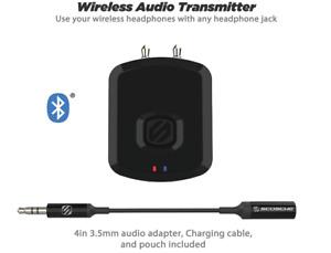 Scosche FLYTunes Universal Wireless Bluetooth Audio Transmitter - Black