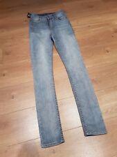 BNWT Cheap Monday seconde peau W27 L32 Taille Haute Skinny Jeans Backstage Bleu £ 55