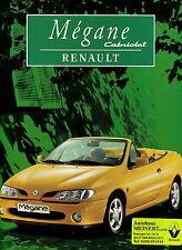 Prospekt 1997 Renault Mégane Cabriolet Autoprospekt 4 97 brochure Auto PKWs