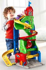 Fisher Price Garage Ramp Road Car Building Set Construction Toy Little People