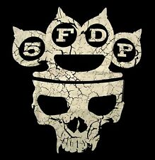 FIVE FINGER DEATH PUNCH cd lgo MY KNUCKLES Official SHIRT MD New way of the fist