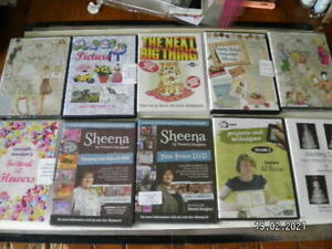 Great Selection of Craft CD's. Choice of 10 Titles.  (59-68)