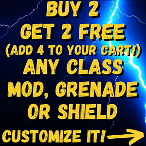 (PS4/5 PC XBOX) Borderlands 3 CLASS MODS - GRENADES - SHIELDS - BUY 2 GET 2 FREE