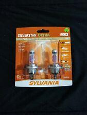 Sylvania Silverstar ULTRA 9003/H4 Pair Set High Performance Headlight Bulbs NEW