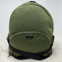 Kate Spade Dawn Large Backpack Sapling Green Nylon Bag Authentic Retails $299