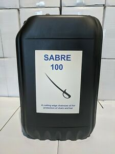 25 Litres 25L Sabre Chainsaw Oil For Chainsaw And Bar -  100cst