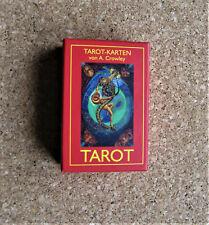 Tarot-Karten von A. Crowley & Lady F. Harris   Pocketausgabe   gebraucht