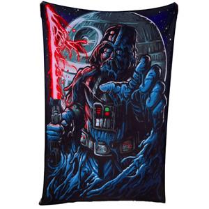 Darth Vader Melting Star Wars Trippy Fan Art Wall Hanging Home Decor Tapestry