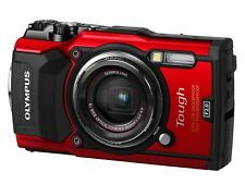 Olympus Tough TG-5 Compact Digital Camera - Red