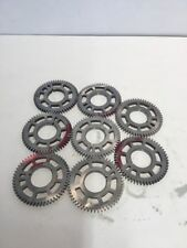 Lot Of 8  Industrial Machine Steampunk Pulley Gear Cog Lamp Base