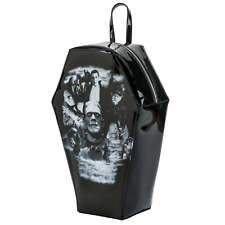 Universal Monsters Coffin Purse Handbag Dracula Mummy Gothic Horror Backpack