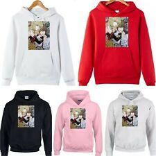 Death Note manga Light Misa Japanese Anime animation teen Men Women hoodie top