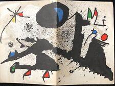 MIRO JOAN A LA FONDATION MAEGHT 1978