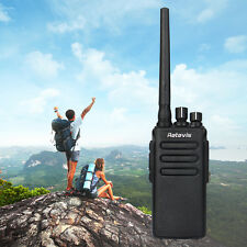 DMR Retevis RT81 Walkie Talkie Power 10W UHF High 32CH FM 2-Way RadioWaterproof