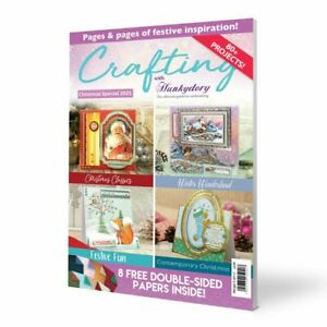 Crafting With Hunkydory Magazine Christmas Special 2021 - FREE P&P