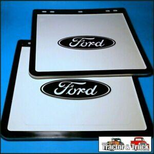 MFL3502 2x Ford F Truck Mud Flap Flaps Mudflaps 12x11 12in Wide 11in Drop